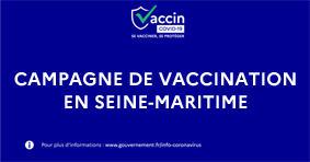 COVID19 - Campagne de vaccination en Seine-Maritime